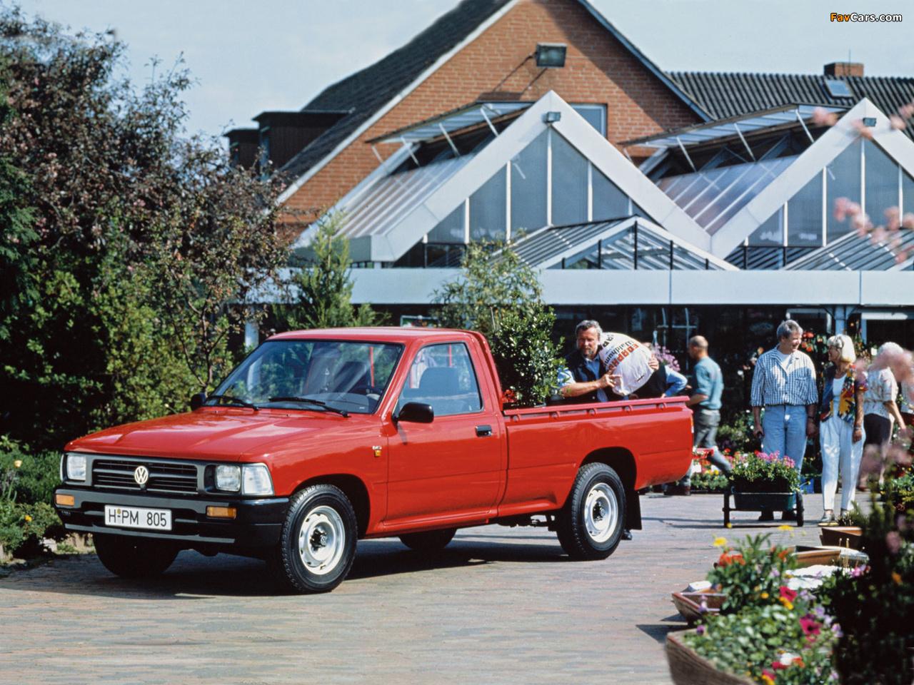 Volkswagen Taro 1989 - 1997 Pickup #1