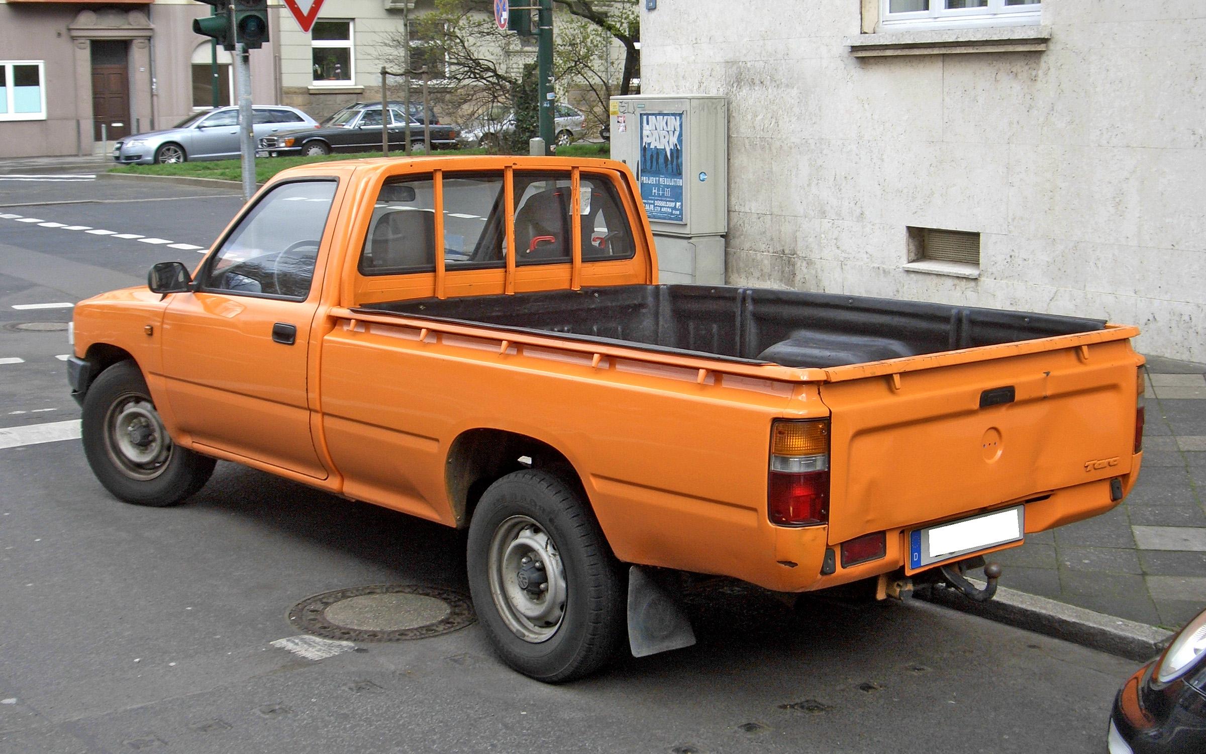Volkswagen Taro 1989 - 1997 Pickup #6
