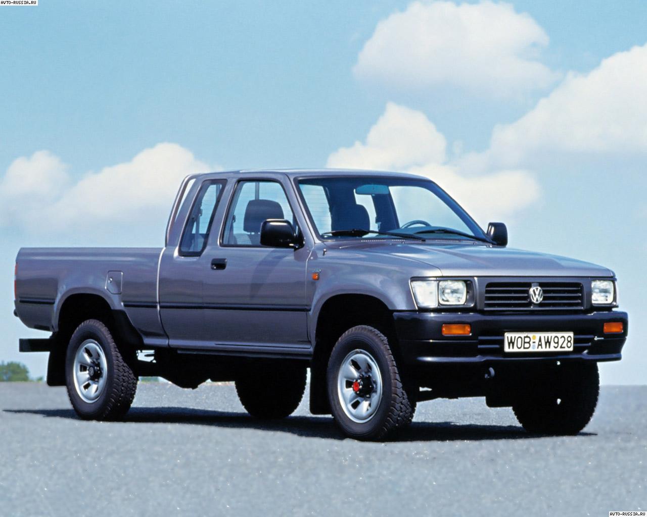 Volkswagen Taro 1989 - 1997 Pickup #7
