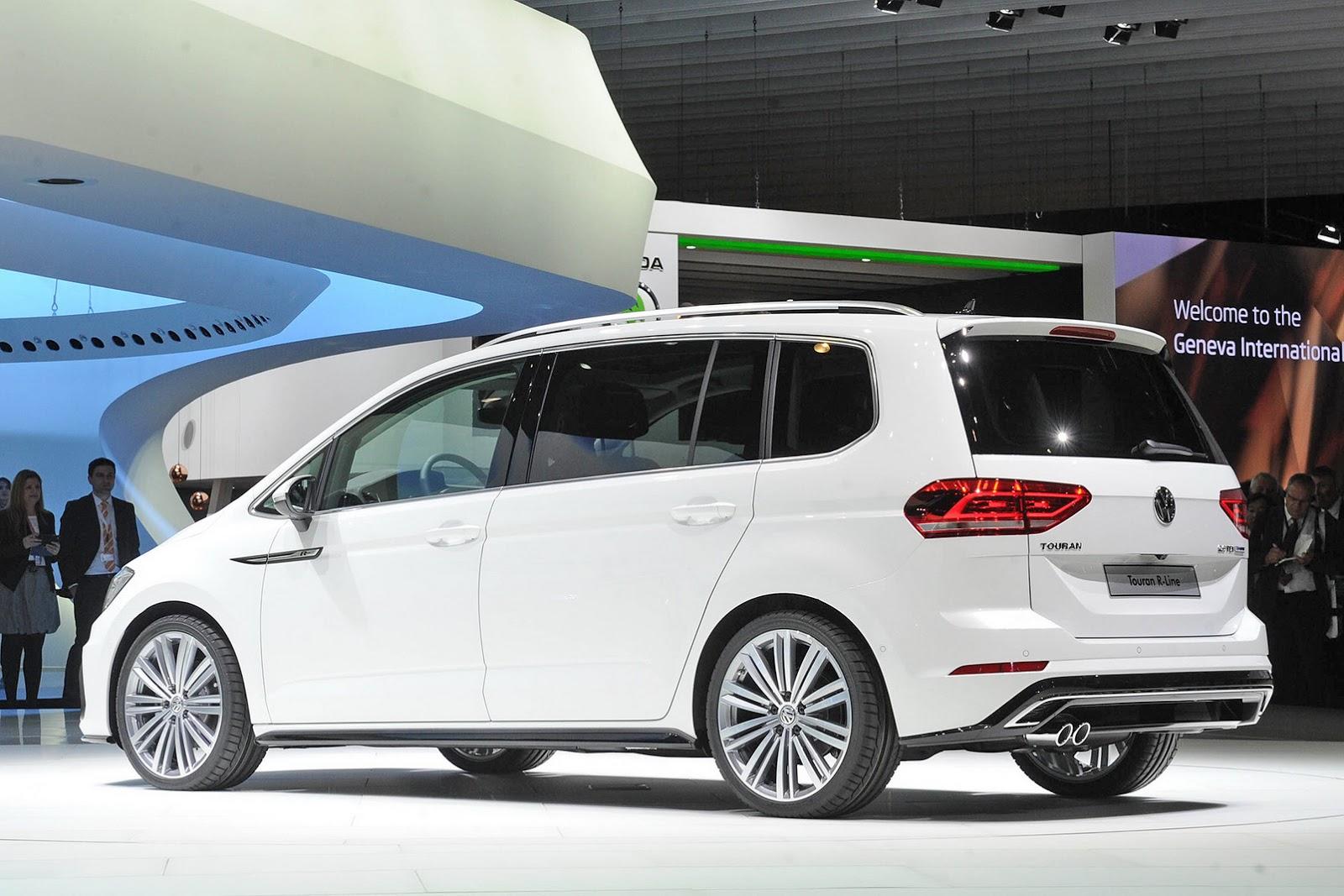Volkswagen Touran III 2015 - now Compact MPV #4