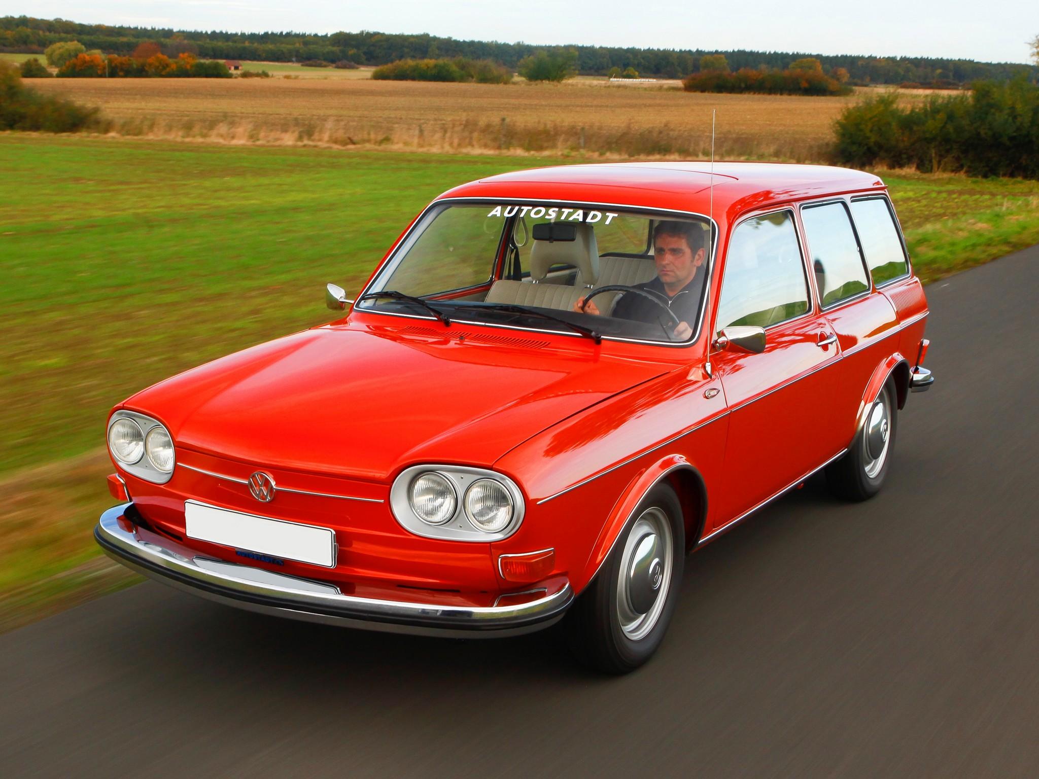 Volkswagen Type 4 I (411) 1968 - 1973 Sedan #5