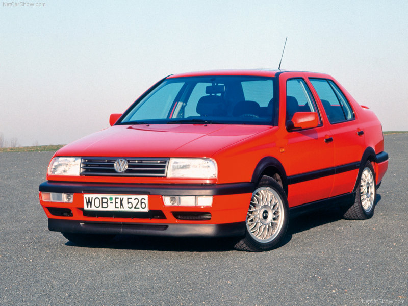 Volkswagen Vento 1992 - 1998 Sedan #2
