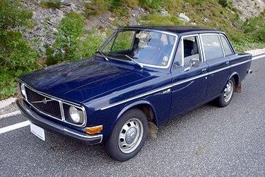 Volvo 140 Series 1966 - 1975 Sedan 2 door #4