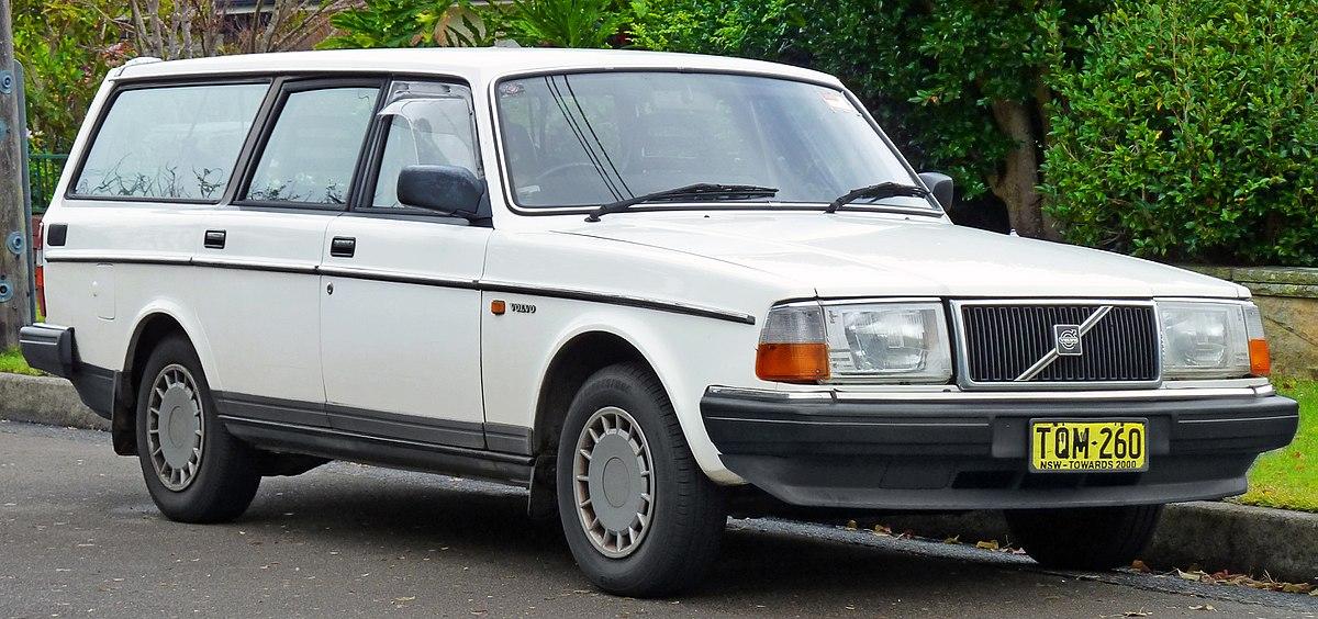 Volvo 240 Series 1974 - 1993 Sedan 2 door #8