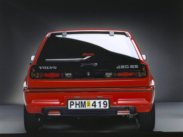 Volvo 480 1986 - 1996 Coupe #3