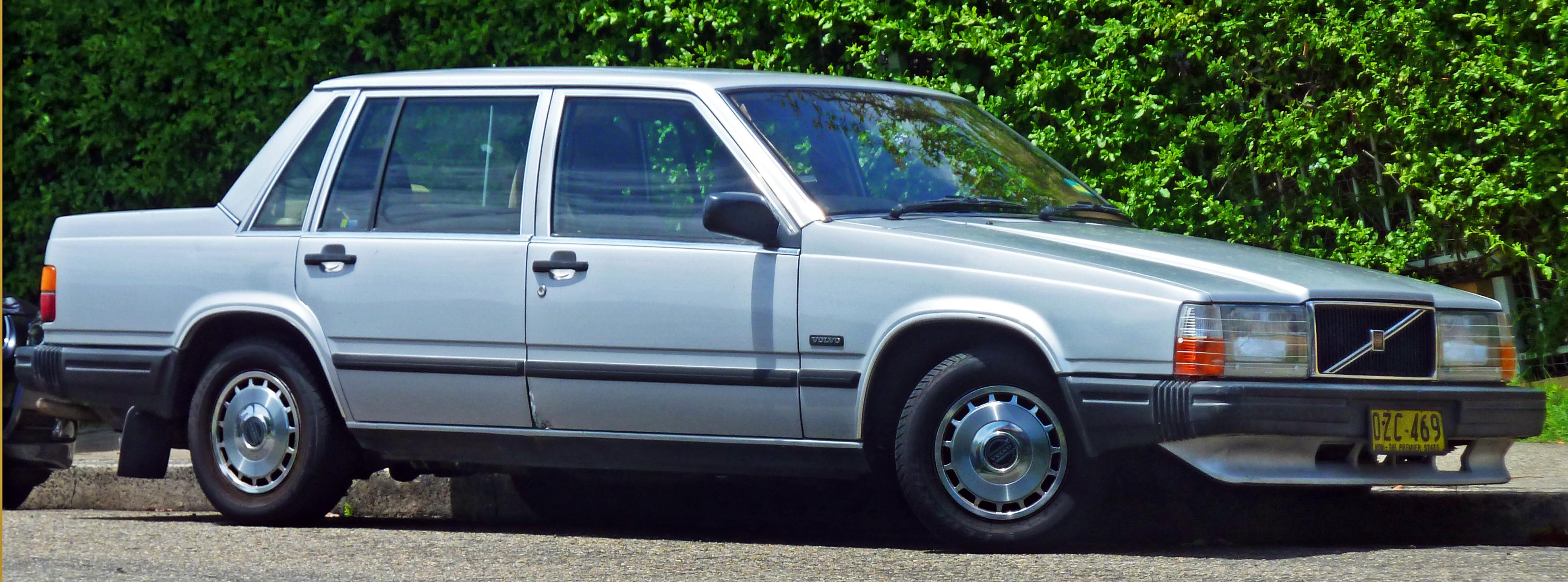 Volvo 740 1983 - 1992 Sedan #4