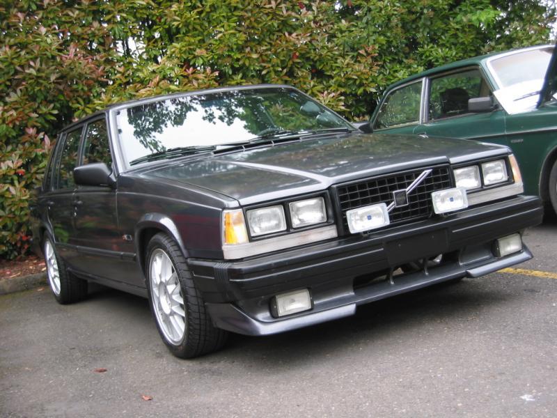 Volvo 740 1983 - 1992 Sedan #8