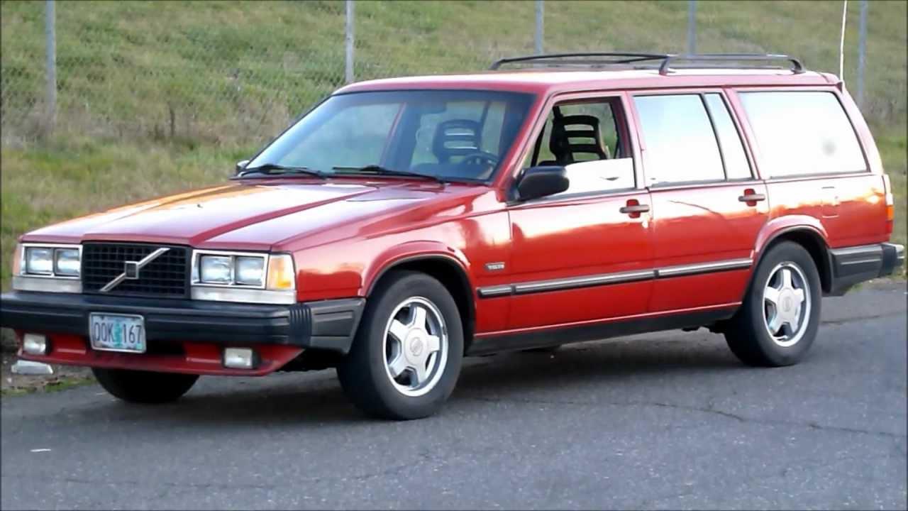 Volvo 740 1983 - 1992 Station wagon 5 door #4