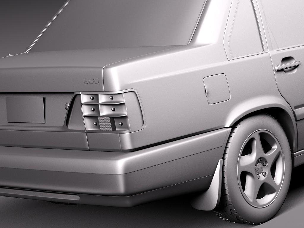 Volvo 850 1991 - 1997 Sedan #3