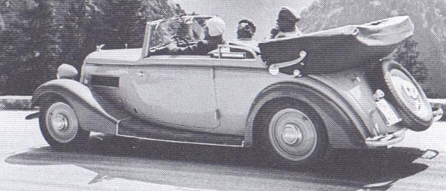 Wanderer W50 I 1936 - 1938 Cabriolet #3