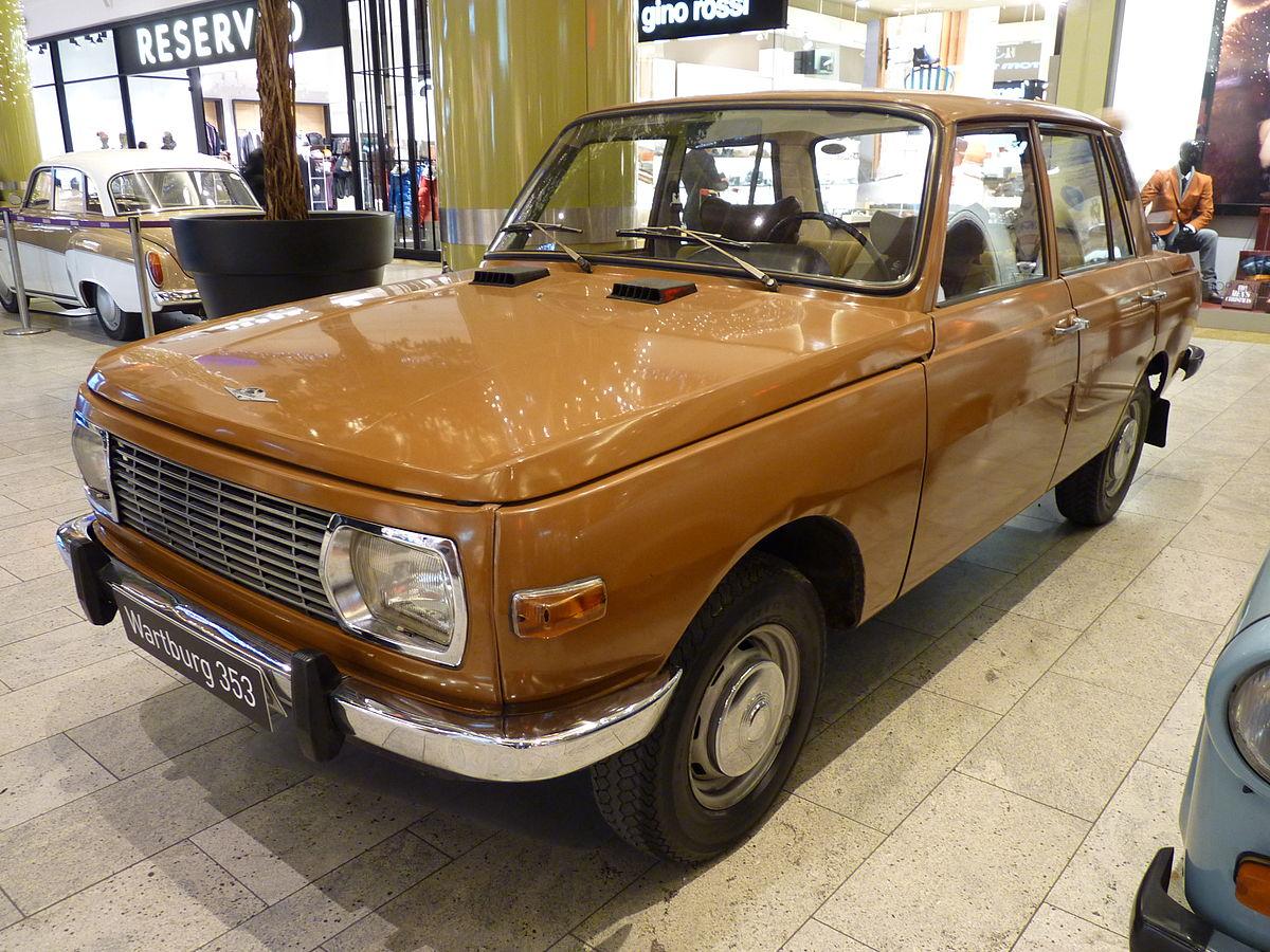 Wartburg 353 1966 - 1989 Station wagon 5 door #6