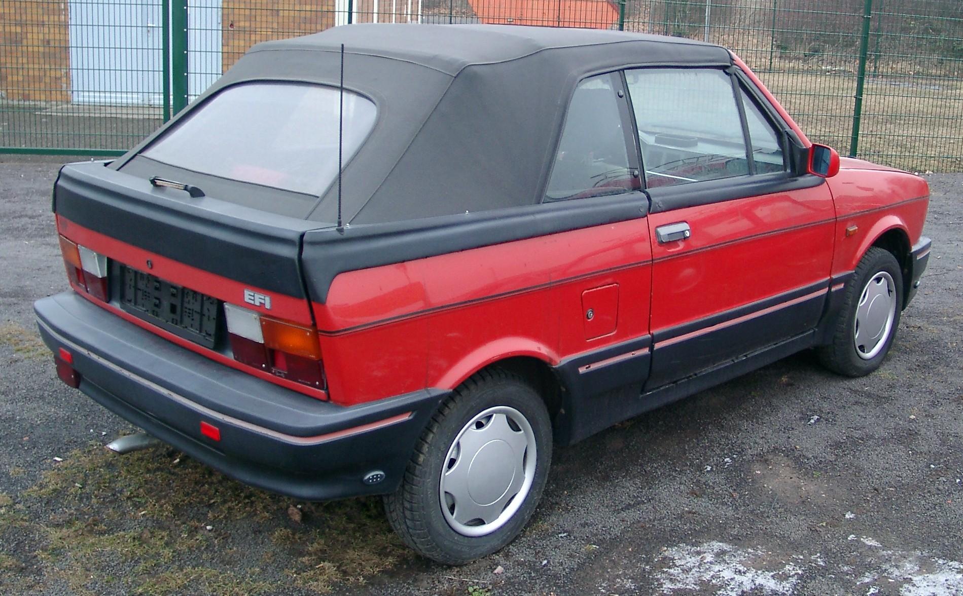 Zastava Yugo 1990 - 2008 Cabriolet #5