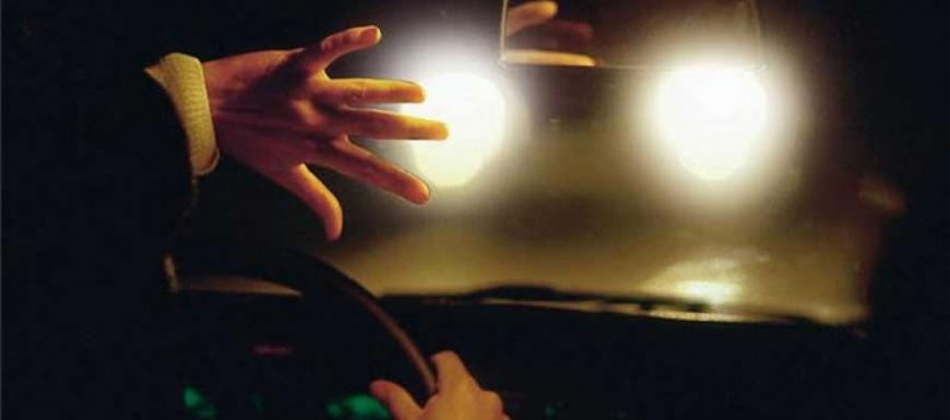 Precautions for driving at night