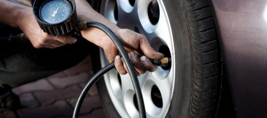 What should be the tire pressure