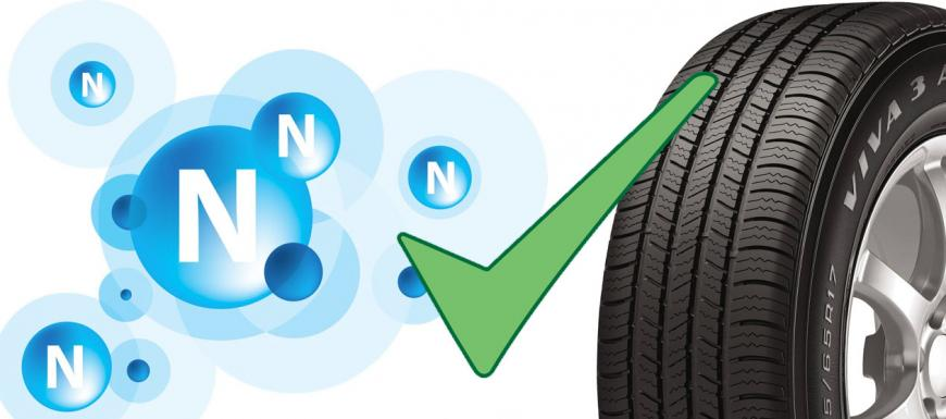 Why use nitrogen in tires